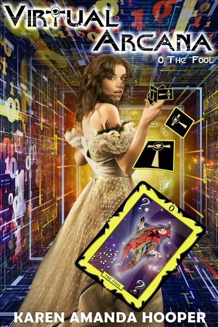 Cover Reveal: Virtual Arcana by Karen Amanda Hooper