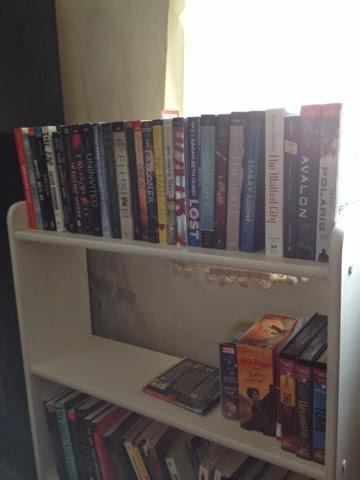 Bookshelf Tour Part 1: The YA Section