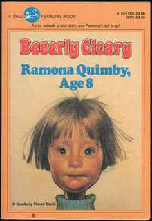 My Thoughts On:  Ramona Quimby, Age 8 by Beverly Cleary