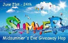 Midsummer's Eve Giveaway Hop 6/21 – 6/24