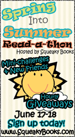 Spring Into Summer Read-a-thon:  Report #1