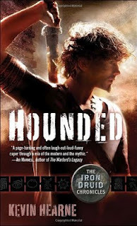 …on Hounded by Kevin Hearne
