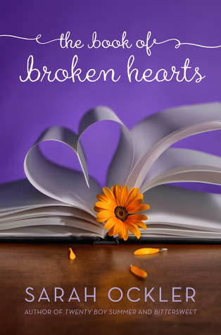 The Book of Broken Hearts by Sarah Ockler Review