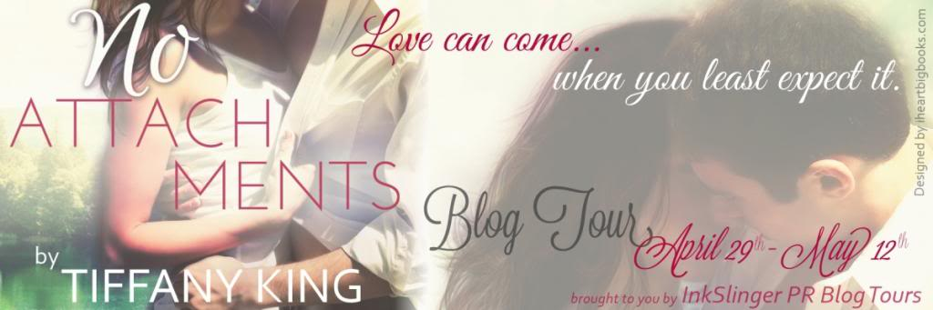 BLOG TOUR! No Attachments by Tiffany King Excerpt + Giveaway! #CFMonth13