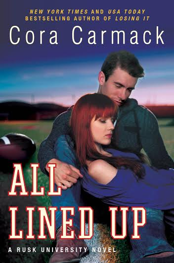 Check This Out: All Lined Up by Cora Carmack HUGE Excerpt Reveal!