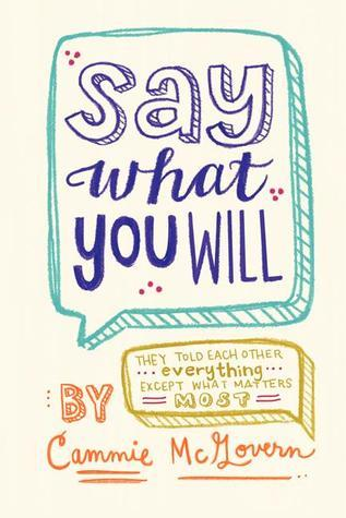 Review | Say What You Will by Cammie McGovern Review – with Audiobook Notes