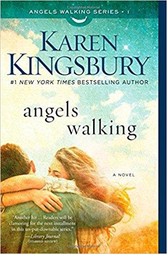 """Book Review of """"angels walking"""" by Karen Kingsbury"""