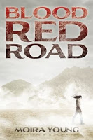 2011 Debut Author Challenge 6:  Blood Red Road  by Moira Young