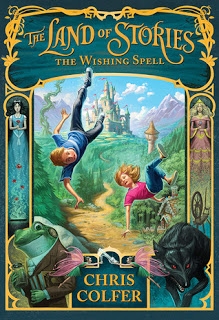 The Land of Stories:  The Wishing Spell by Chris Colfer Review and Giveaway!!