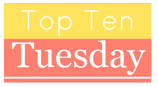 Top Ten Tuesday – Books/Authors I'm Thankful For