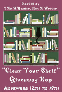 Clear Your Shelf Giveaway Hop November 2012