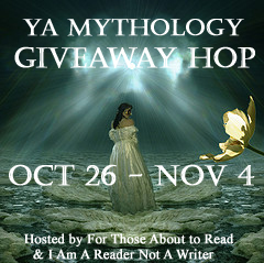 YA Mythology Giveaway Hop Winner AND Feature and Follow Friday 11/9/12