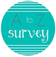 A to Z Bookish Survey