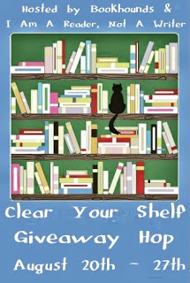 Clear Your Shelf Giveaway Hop August 2013
