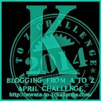 A to Z April – K:  Keeping