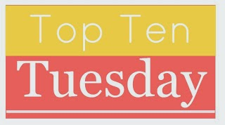 Top Ten Tuesday:  10 Authors I Own the Most Books From