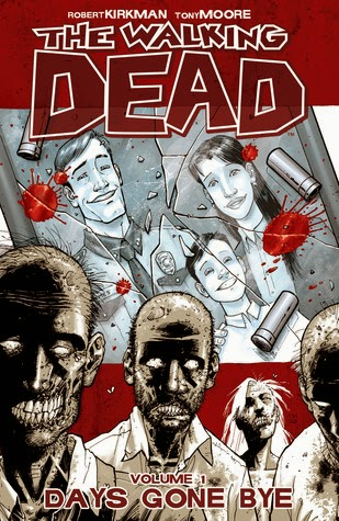 Review:  The Walking Dead Volume 1:  Days Gone By Graphic Novel by Robert Kirkman and Tony Moore