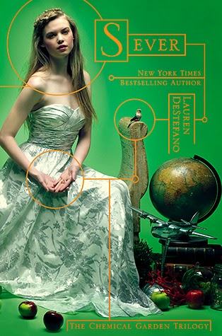 Review:  Sever (Chemical Garden #3) by Lauren DeStefano (September Sequels Challenge #4) #TackleTBR Read-a-thon Final Update