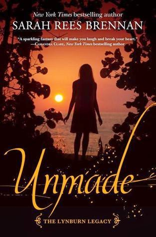 Review:  Unmade (The Lynburn Legacy #3) by Sarah Rees Brennan (September Sequels Challenge #1)