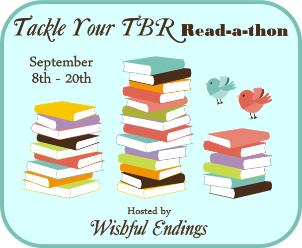 #TackleTBR Read-a-thon Update for Thursday, September 11th