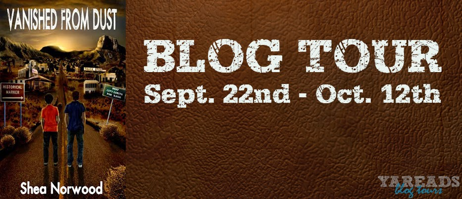 Vanished From Dust by Shea Norwood Blog Tour