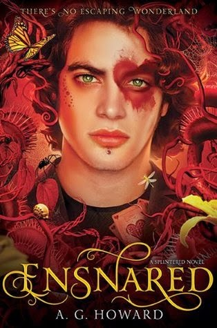 Review:  Ensnared (Splintered #3) by A.G. Howard (Series Ender Challenge #1)
