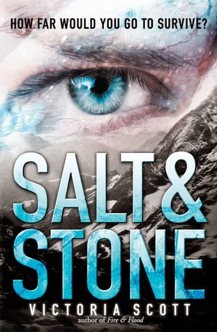 Review:  Salt and Stone (Fire and Flood #2) by Victoria Scott
