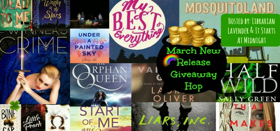 March New Release Giveaway Hop
