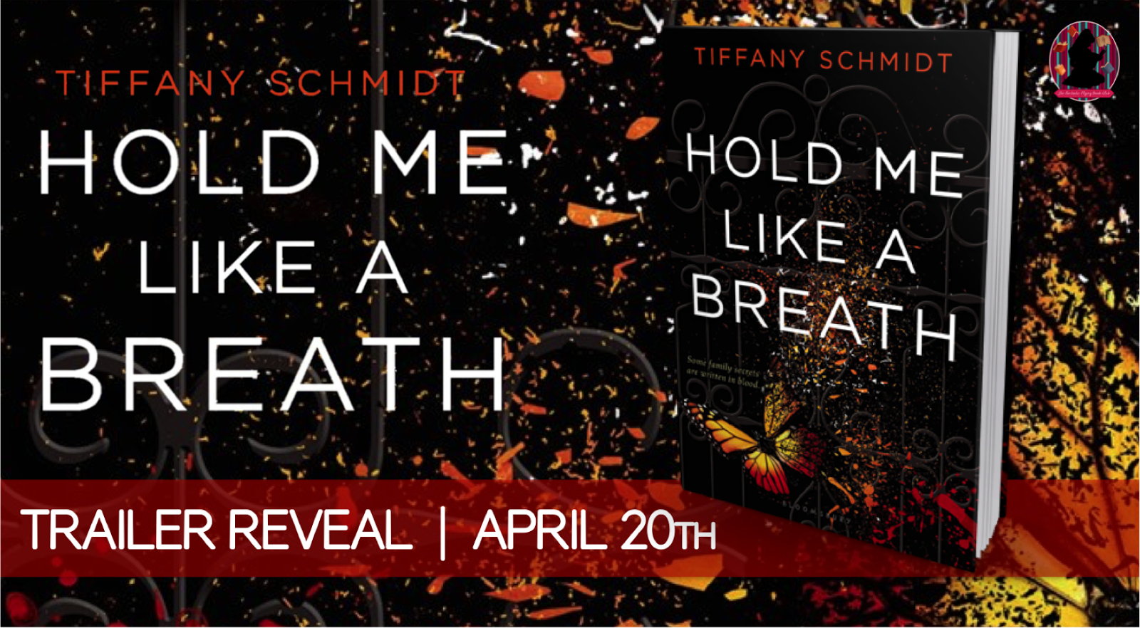 Trailer Reveal:  Hold Me Like a Breath by Tiffany Schmidt