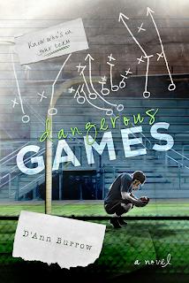 Cover Reveal:  Dangerous Games by D'Ann Burrow