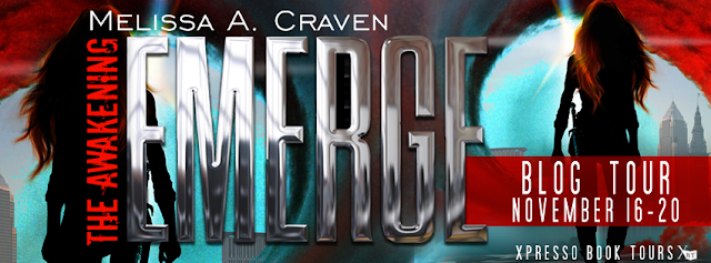 Promo Interview and Giveaway:  Emerge by Melissa A. Craven