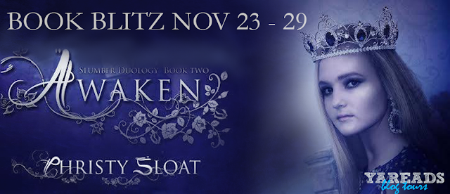 Book Blitz and Giveaway: Awaken by Christy Sloat