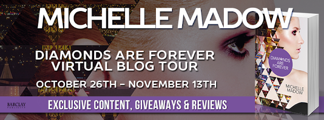 Promo Interview and Giveaway:  Diamonds are Forever (The Secret Diamond Sisters #3) by Michelle Madow
