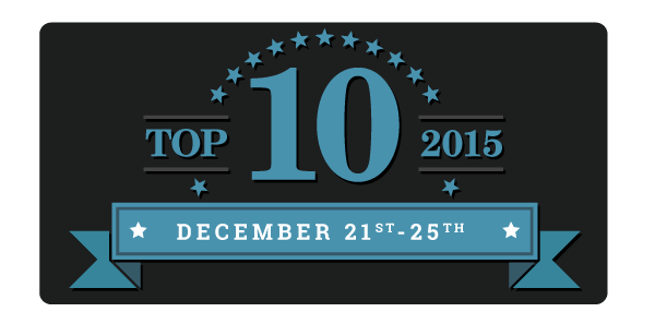 Top 10 of 2015 Day 3:  Favorite Bad Boys of 2015