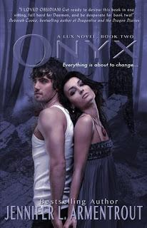 Review:  Onyx (Lux Series #2) by Jennifer L. Armentrout