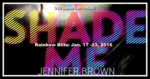 Shade Me Rainbow Blitz and Giveaway:  Orange You Excited to Read My Review?