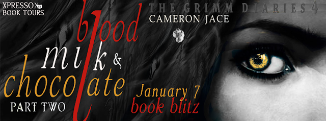 Book Blitz and Giveaway:  Blood, Milk, and Chocolate – Part 2 by Cameron Jace