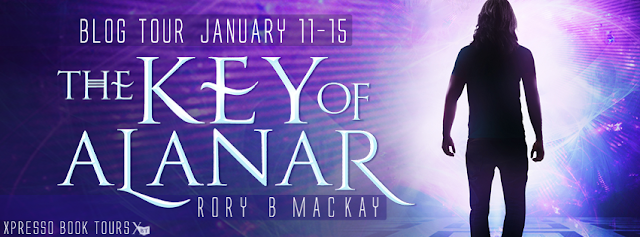 Promo Post and Giveaway:  The Key of Alanar by Rory B. Mackay