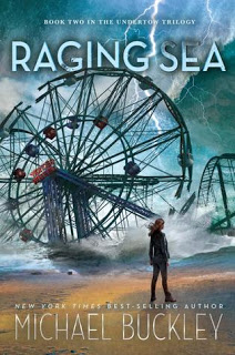 Review:  Raging Sea (Undertow #2) by Michael Buckley