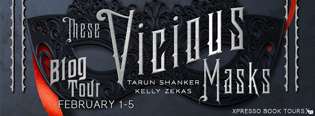Promo Post with Giveaway:  These Vicious Masks by Kelly Zekas and Tarun Shanker