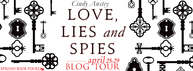 YA Review and Giveaway:  Love, Lies and Spies by Cindy Anstey