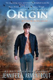 Review:  Origin (Lux #4) by Jennifer L. Armentrout