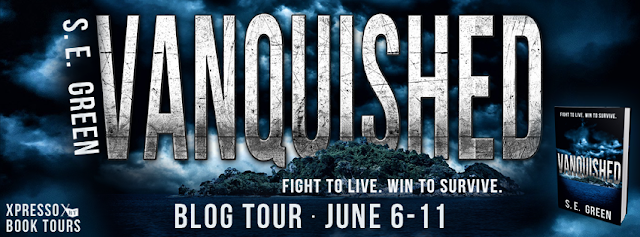 Blog Tour – Review and Giveaway:  Vanquished by S.E. Green