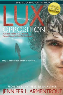 Review:  Shadows/Opposition (Lux series #0.5, #5) by Jennifer L. Armentrout