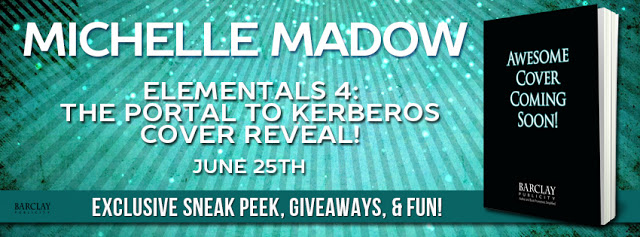 Cover Reveal and Giveaway – Elementals 4:  The Portal to Kerberos