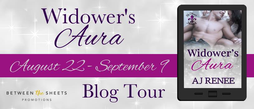 Blog Tour and Giveaway:  Widower's Aura by AJ Renee