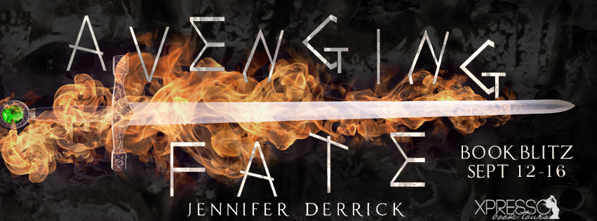 Book Blitz and Giveaway:  Avenging Fate by Jennifer Derrick