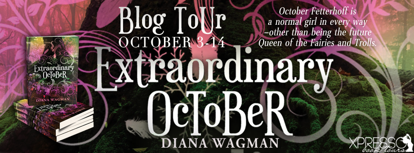 Blog Tour:  Author Interview and Giveaway – Extraordinary October by Diana Wagman
