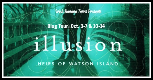Review and Giveaway:  Illusion (The Heirs of Watson Island #3) by Martina Boone