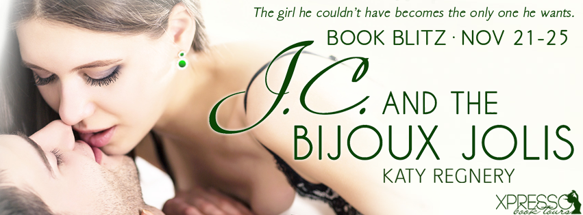 Book Blitz and Giveaway:  J.C. and the Bijoux Jolis (The Rousseaus #3) by Katy Regnery